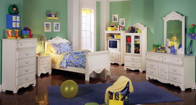 Dormitorios con estilo dormitorios para ni os color verde - Dormitorios infantiles unisex ...