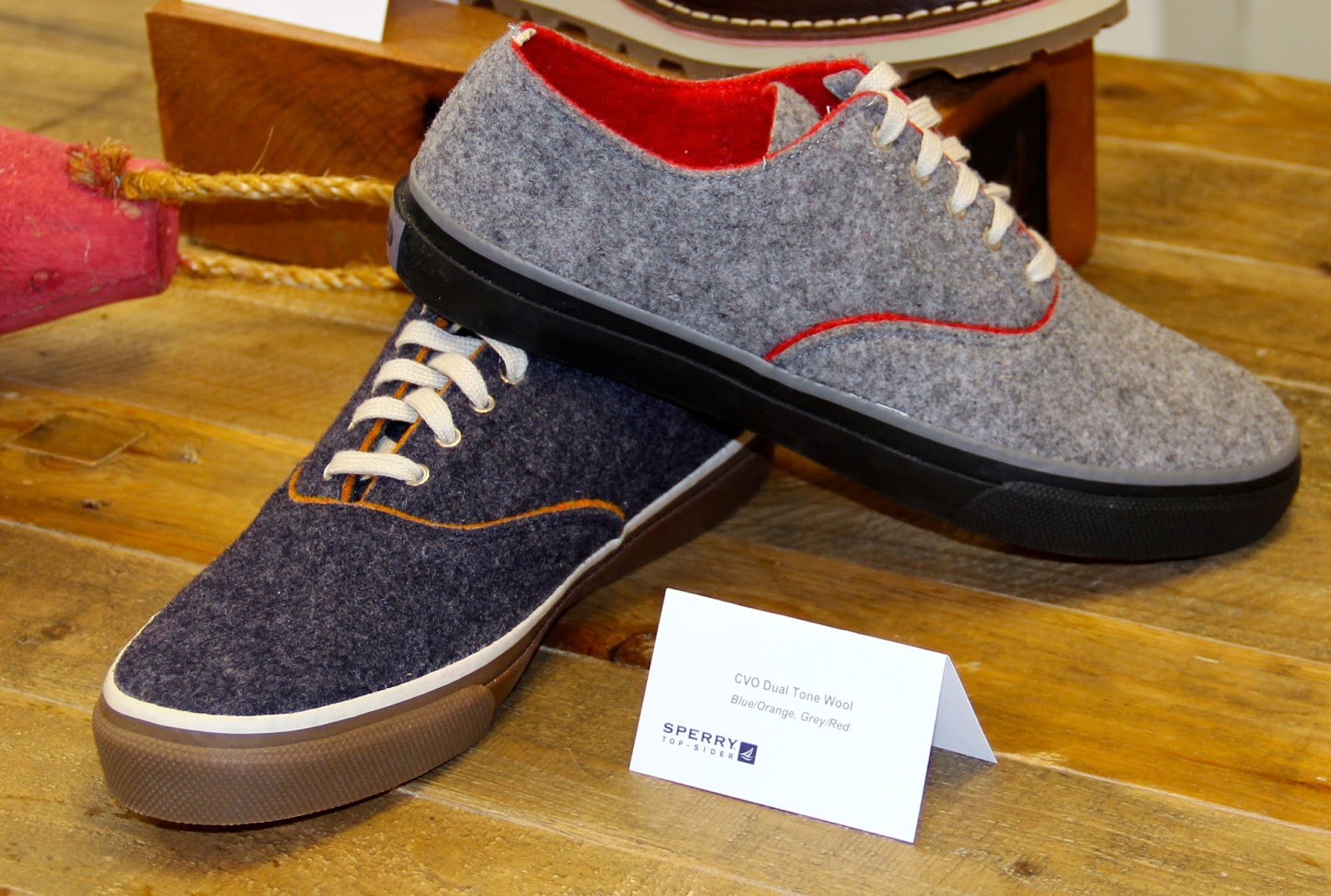 Sperry Top-Sider Men's Fall 2014 Footwear