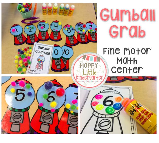 Happy Little Kindergarten: Common Core Math Centers