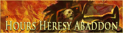 Horus Heresy Abaddon Banner - CMDante.com