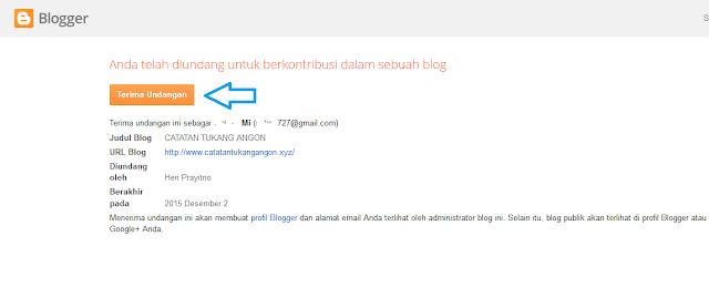 Cara Paling Mudah Merubah Email Admin Blog Pada Blogspot