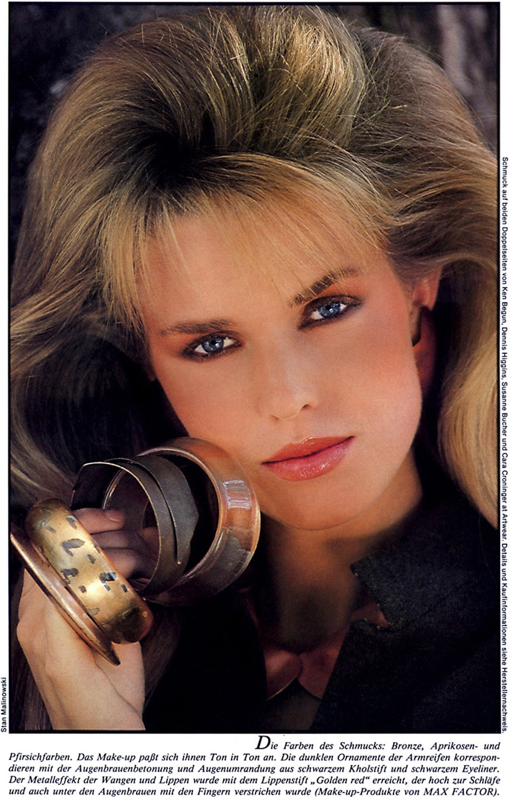 Yolanda Foster Early Modeling Pictures | Rachael Edwards