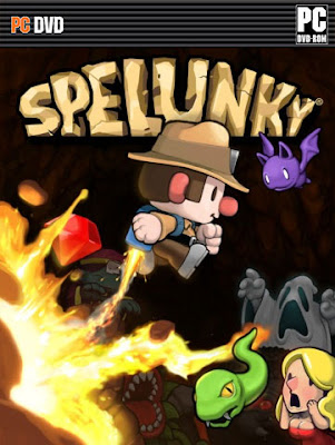 Spelunky PC Cover
