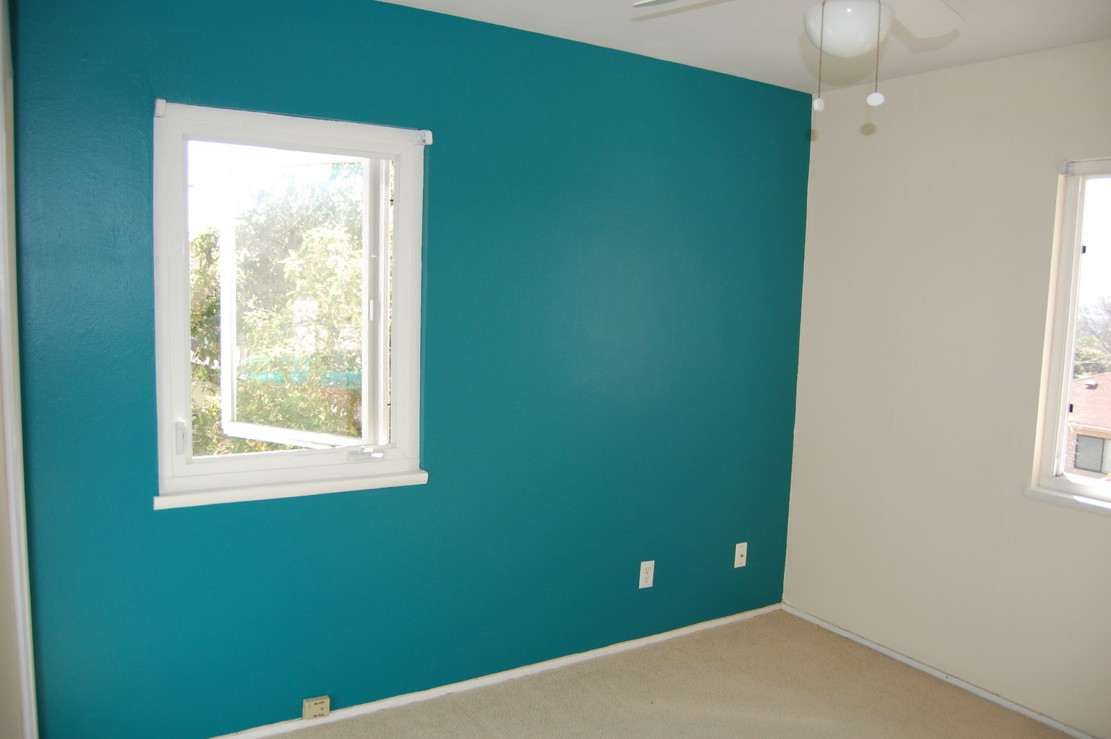 Tom and katy baby painted baby 39 s room for Bedroom ideas with teal walls