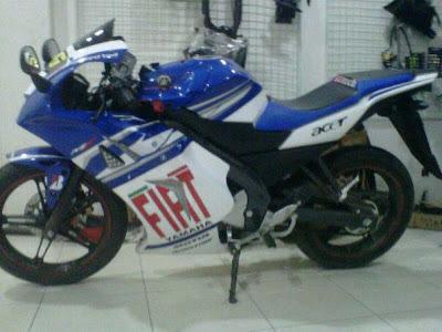 Vixion 2013 Fairing M1 Fiat MotoGP