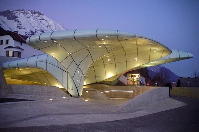 Hungerburg Station, Nordpark, Innsbruck