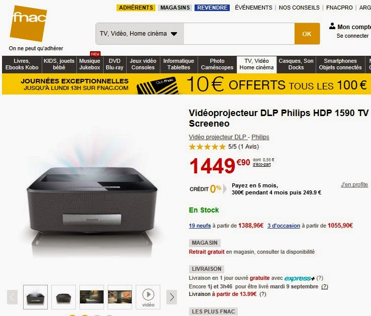 ventes privees sur internet screeneo philips vente priv e. Black Bedroom Furniture Sets. Home Design Ideas