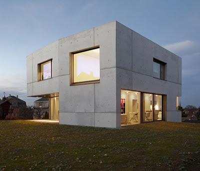 fachada de cemento
