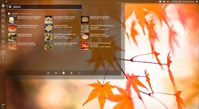 Lenses para Ubuntu (Parte III de IV), lenses unity, lenses unity comida