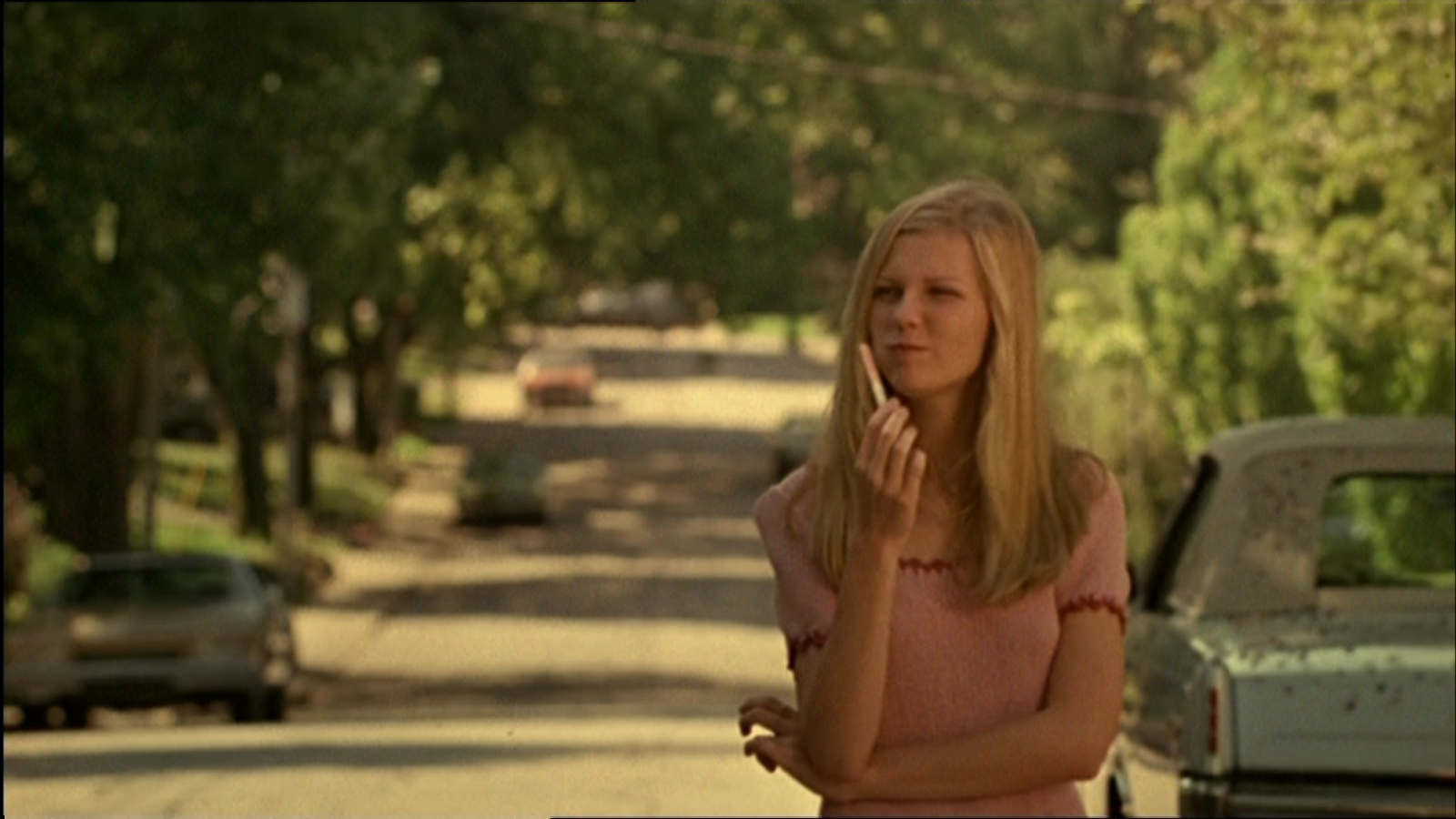 Kirsten Dunst dans Virgin Suicides