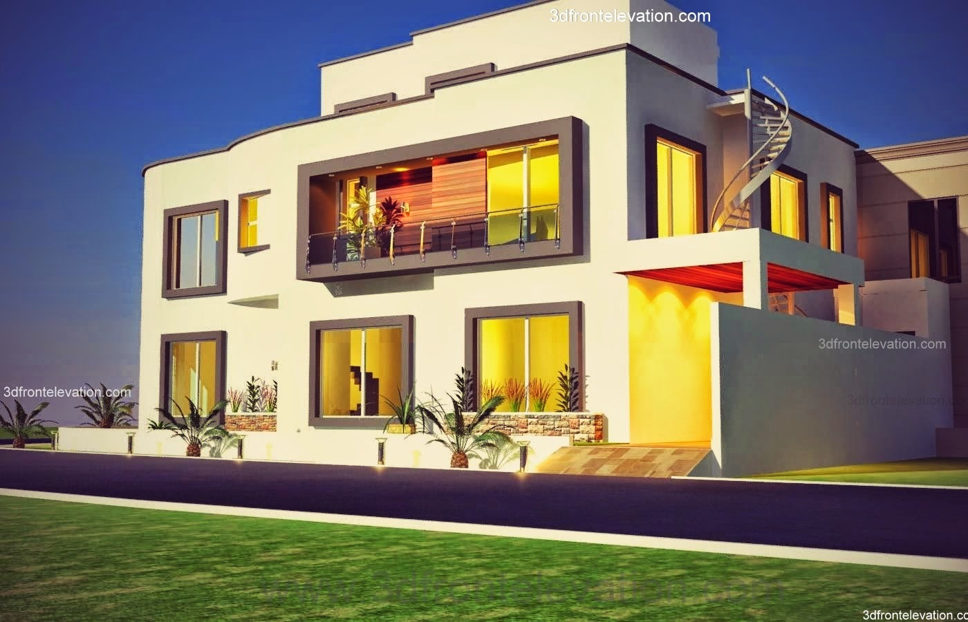 Casatreschic interior 10 marla plot modern contemporary for Bahria town islamabad home designs