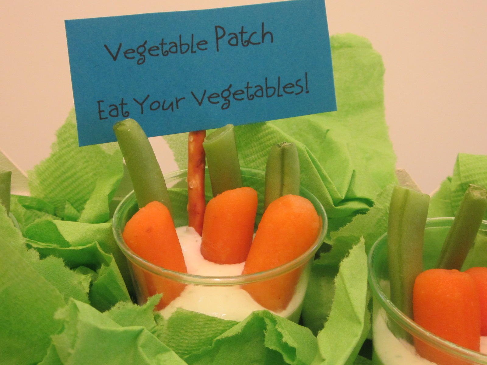 Homespun with love food craft idea vegetable patch for Vegetable patch