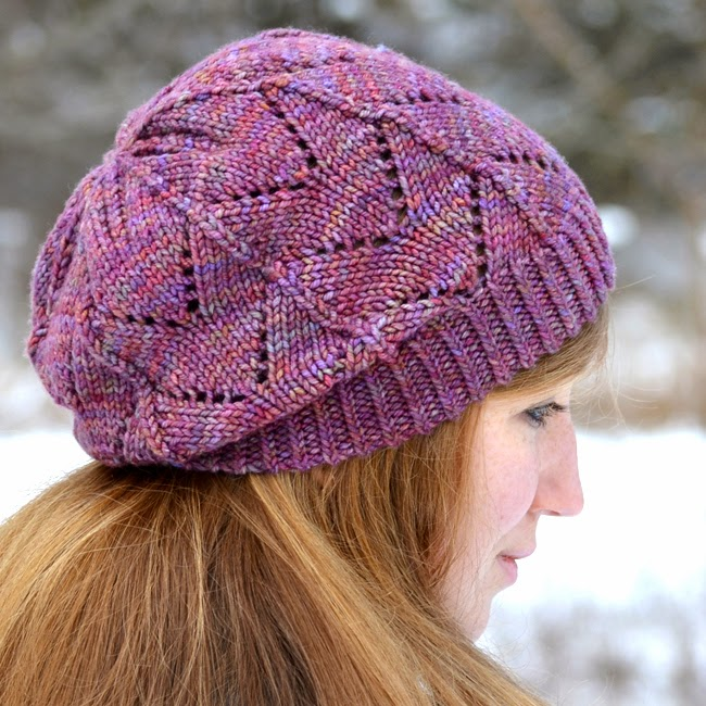 Frosted Primrose Hat Knitting Pattern