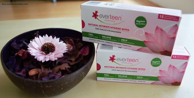 Everteen Natural Intimate Hygiene Wipes