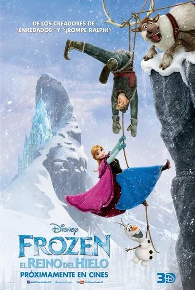 Forzen. El Reino del hielo - Cartel
