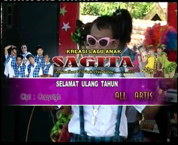 ScreenShoot Sagita Lagu Anak-Anak Full Album