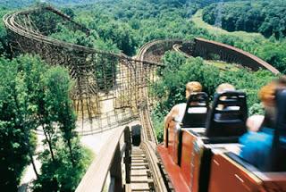 Kings Island Son of Beast-Kings Island The Beast Roller Coaster