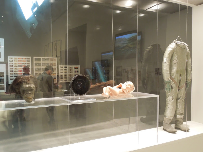 Original 2001 A space Odyssey movie costumes and props