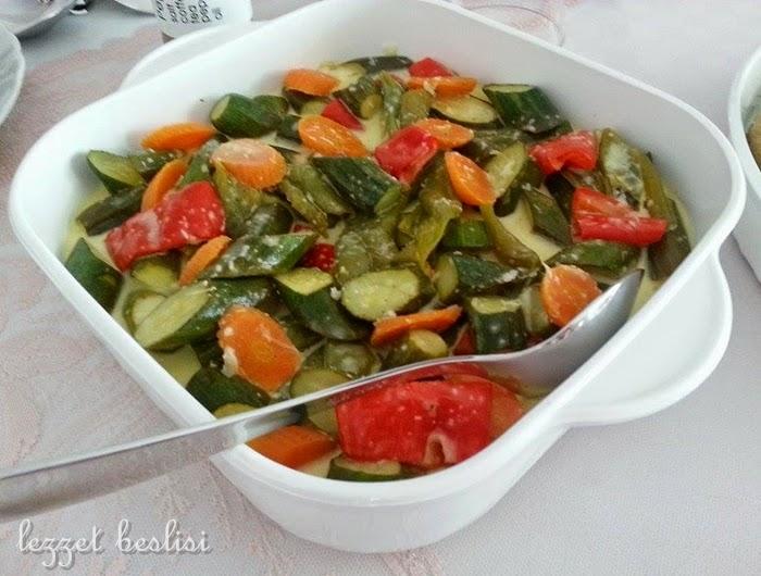 girit kabağı salatası tarifi