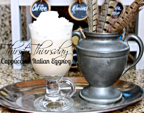 How to make a Italian Eggnog Cappuccino at One More Time Events.com
