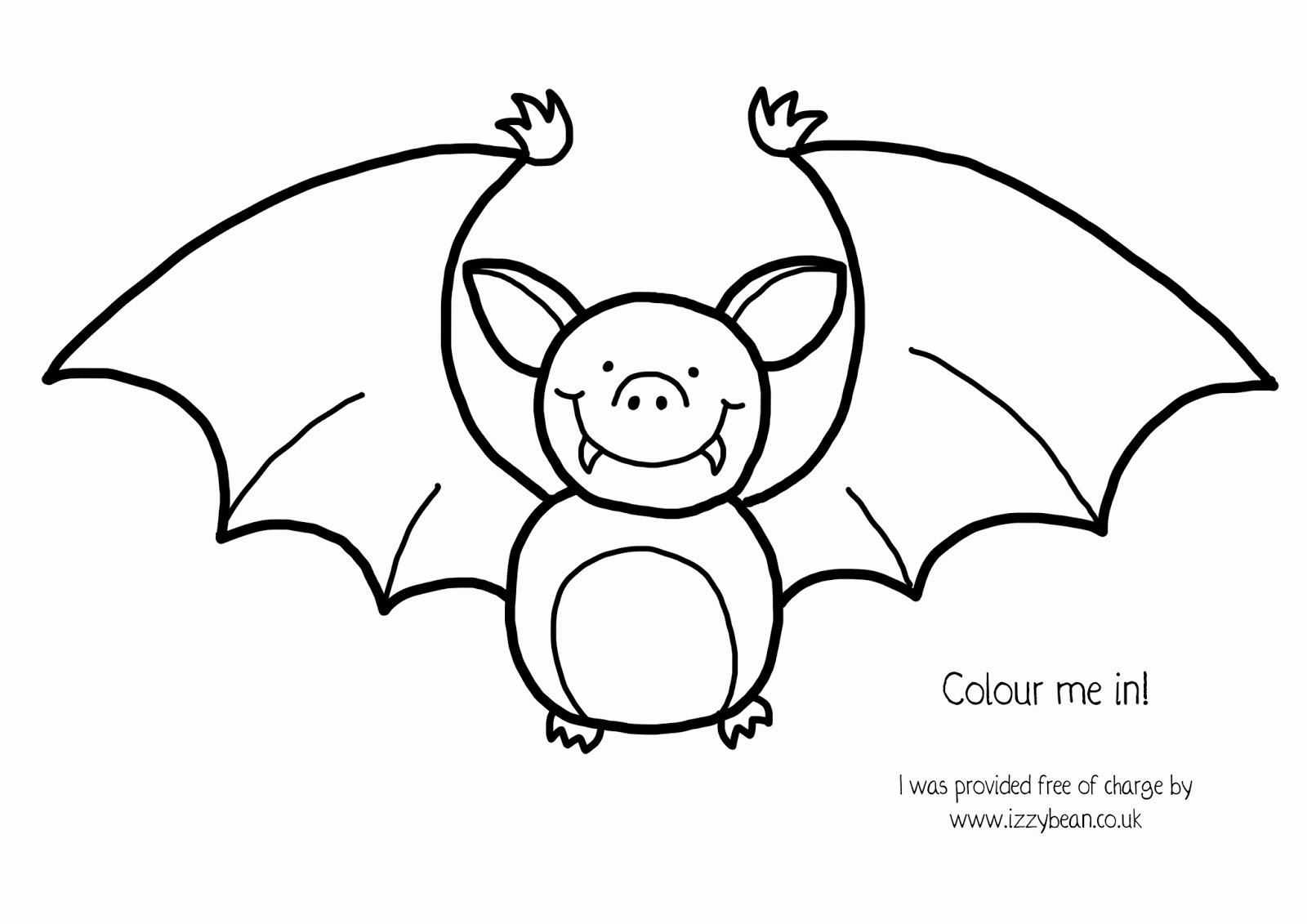 izzy bean illustrations step by step halloween special bat with