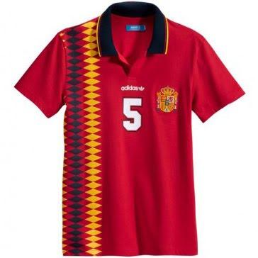 camiseta España Adidas Originals Eurocopa 2012