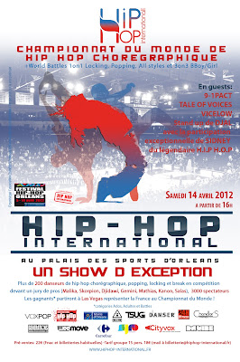 >Agenda// Hip Hop International France est de retour à Orléans