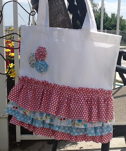 Summer Smooches Ruffle Bag