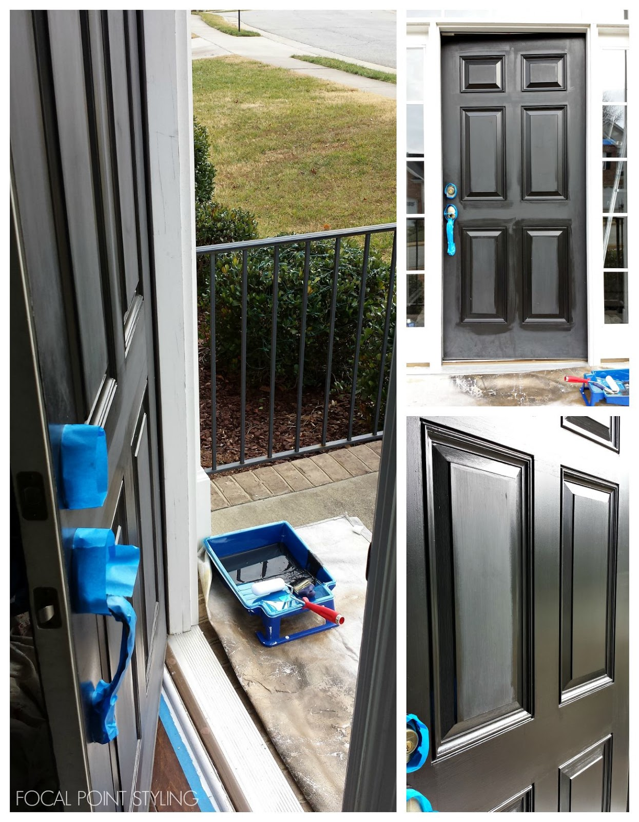 Focal Point Styling How To Paint Interior Doors Black Update