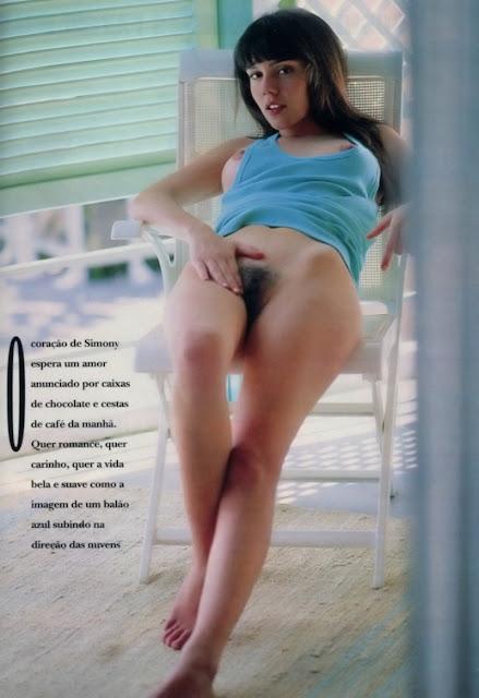 Simony - Turma do Balão Mágico - fotos nua e  pelada - Playboy Brasil