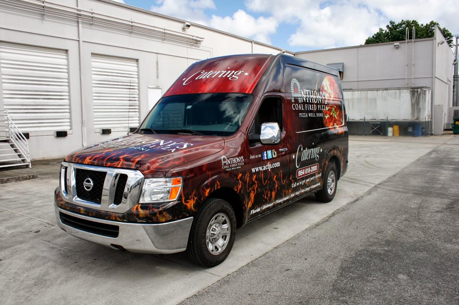 nissan nv van 3m vehicle wrap advertising anthony coal. Black Bedroom Furniture Sets. Home Design Ideas