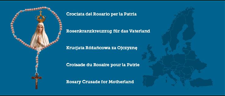 se.crosary.eu - Rosenkranskorståg för Fosterlandet