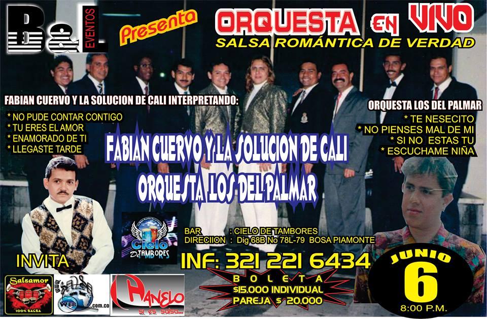 ► Fabian Cuervo y la Solución de Cali Vs Orquesta Los del Palmar