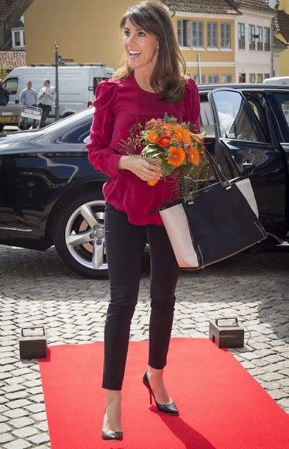 Princess Marie of Denmark attended the National Autism Conference (SIKON)