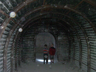 wartime bunker tunnel