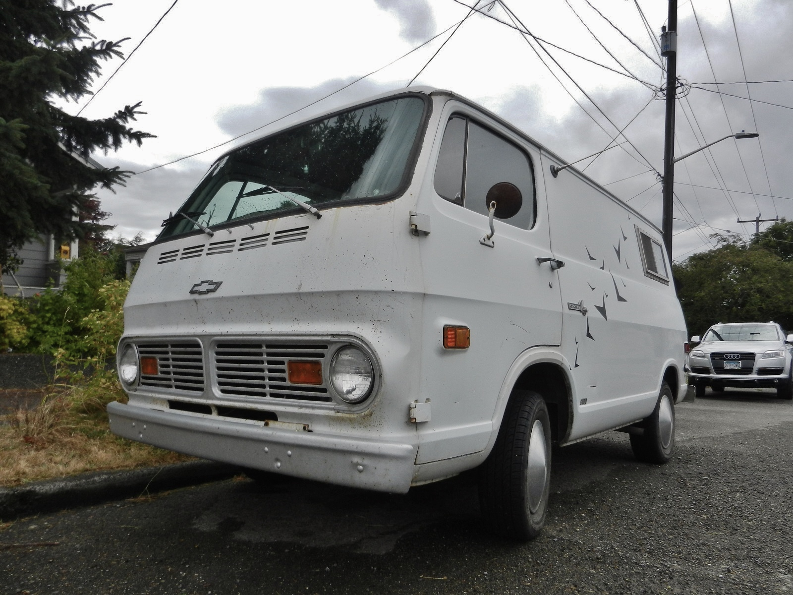seattle 39 s parked cars 1969 chevy van. Black Bedroom Furniture Sets. Home Design Ideas