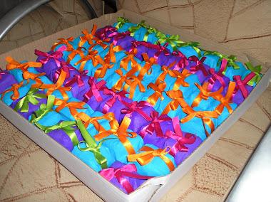 bolinhos coloridos