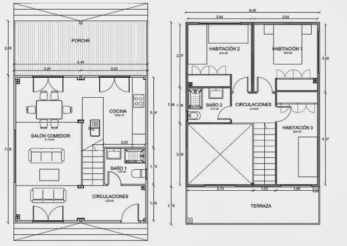 Planos de casas octubre 2013 for Plano de planta