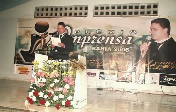 PRÊMIO IMPRENSA 2013 PORTO SEGURO - BAHIA