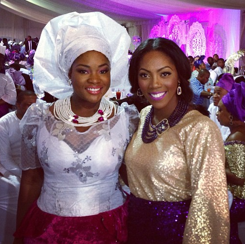 Pictures From Sharon Adeleke's and Yomi Wedding