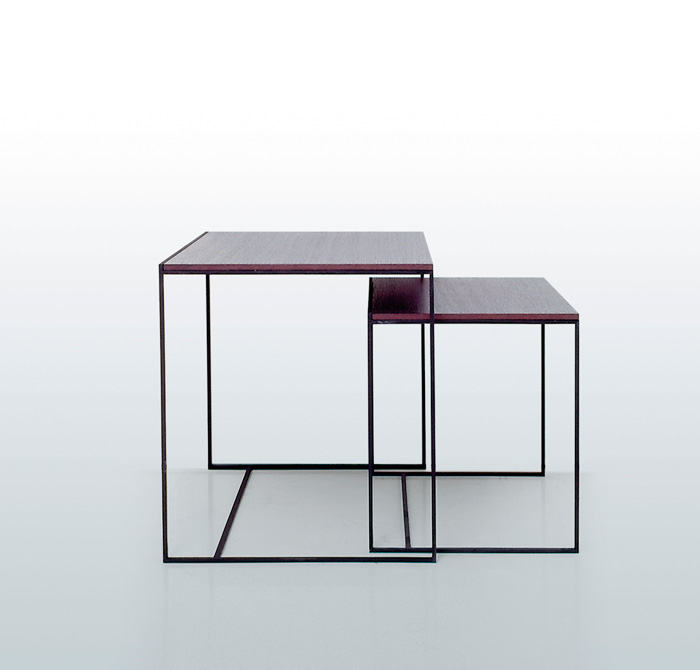 Avant garde design: interni edition tables.