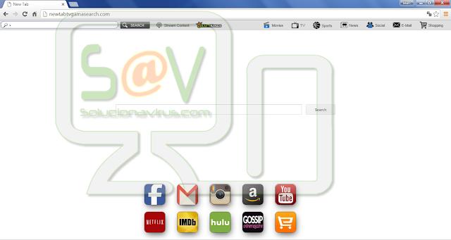 Newtabtvgamasearch.com