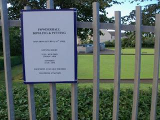 Putting Green at Powderhall Bowling Green, St Mark's Park, Edinburgh