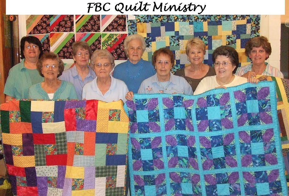 Quilt Ministry First Baptist Church
