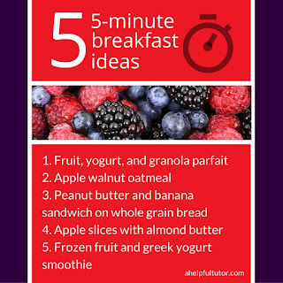 5 healthy 5-minute breakfast ideas