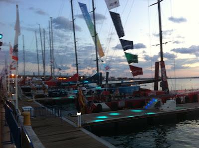 Volvo+Ocean+Race+2011+ +Barcos Impressions Village Volvo Ocean Race Alicante 2011