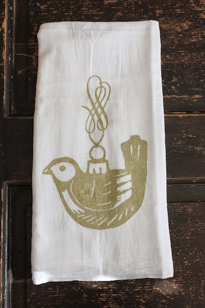 Vintage Ornament towel