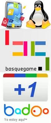Desarrollador de aplicaciones iPhone y Android, Botón +1 Google, Software Libre y BASQUEGAME