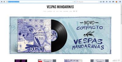 Vespas Mandarinas cria loja virtual