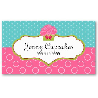 Business card showcase by socialite designs whimsical cupcake lots of color with a whimsical cupcake and ribbon we also have matching stickers for each of the business card designs colourmoves